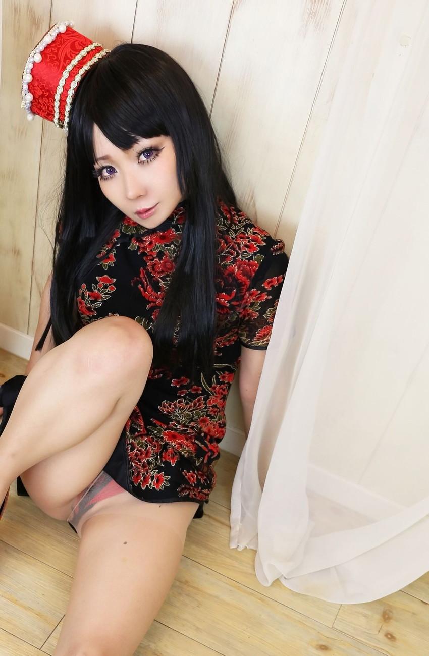 【日暮らんエロ画像】過激コスプレが生業の美少女コスプレイヤー! 18