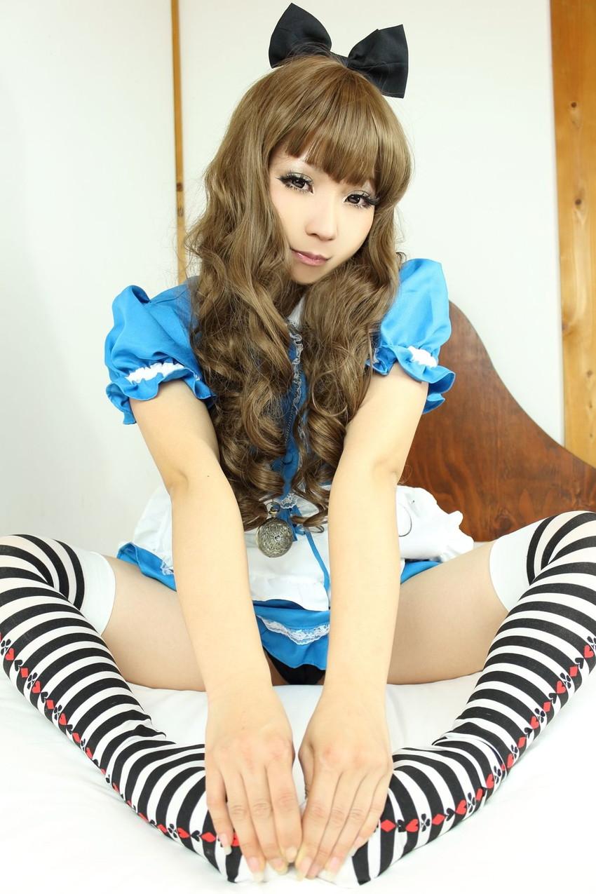 【日暮らんエロ画像】過激コスプレが生業の美少女コスプレイヤー! 55