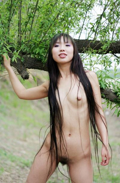 【中国人ヌードエロ画像】日本人に近いアジア人種だけあって違和感の無い中国人ヌード! 57
