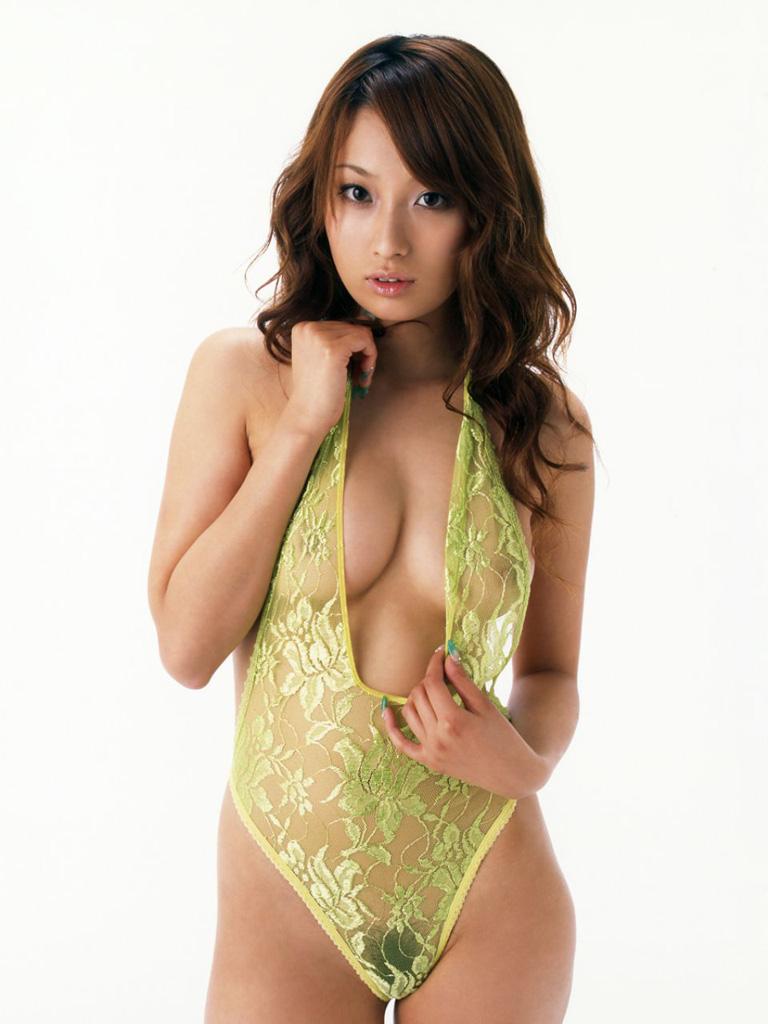 【シースルーエロ画像】シースルーで裸体がスケスケ!鼻血モノのシースルー衣装! 47