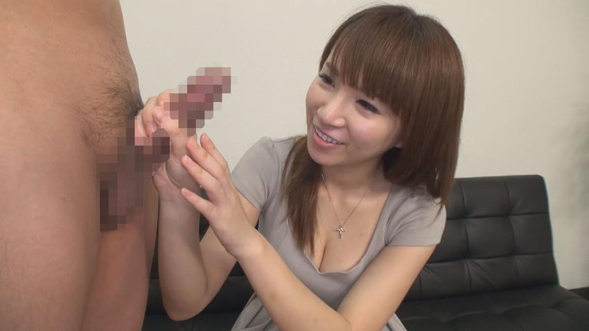 【手コキエロ画像】女の子による手コキ画像って思ったよりエロイな!w 39