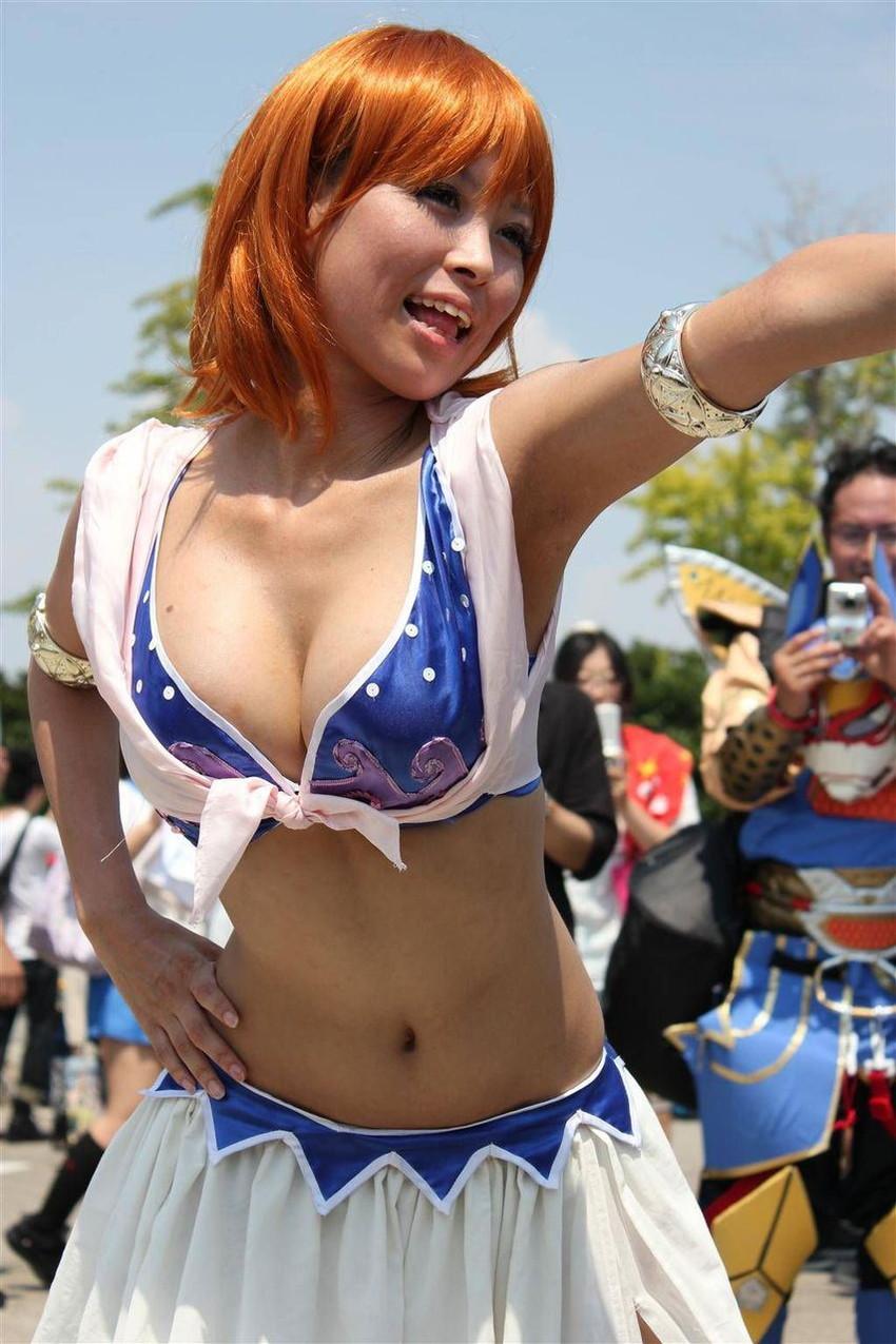 【アニコスエロ画像】ちょっと過激なアニメコスプレ!コスプレ少女たちの艶姿! 10