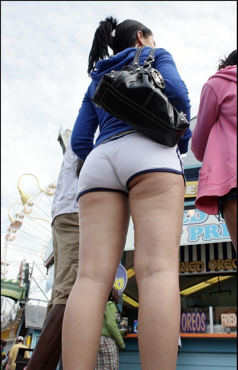 【ホットパンツエロ画像】普段着なのになぜかエロい!これは意識しすぎじゃ…っていうホットパンツw 43