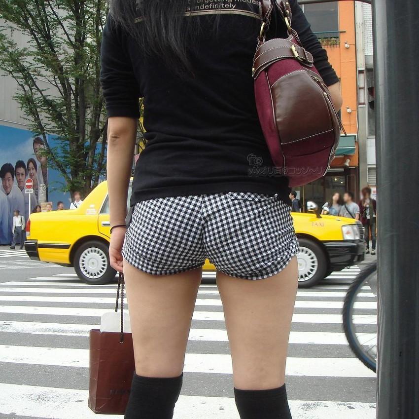 【ホットパンツエロ画像】普段着なのになぜかエロい!これは意識しすぎじゃ…っていうホットパンツw 45