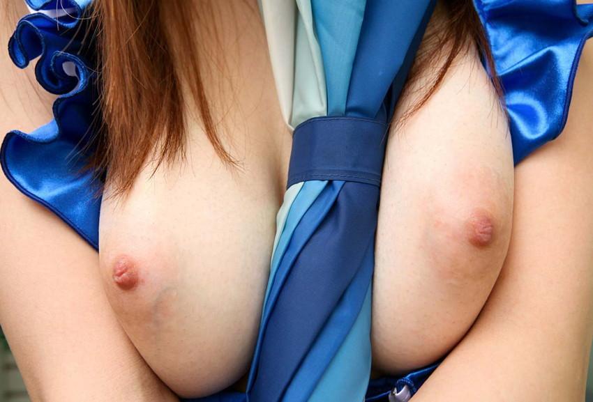 【ピンク色の乳首エロ画像】色素の薄いほんのりピンク色の美しすぎる乳首! 16