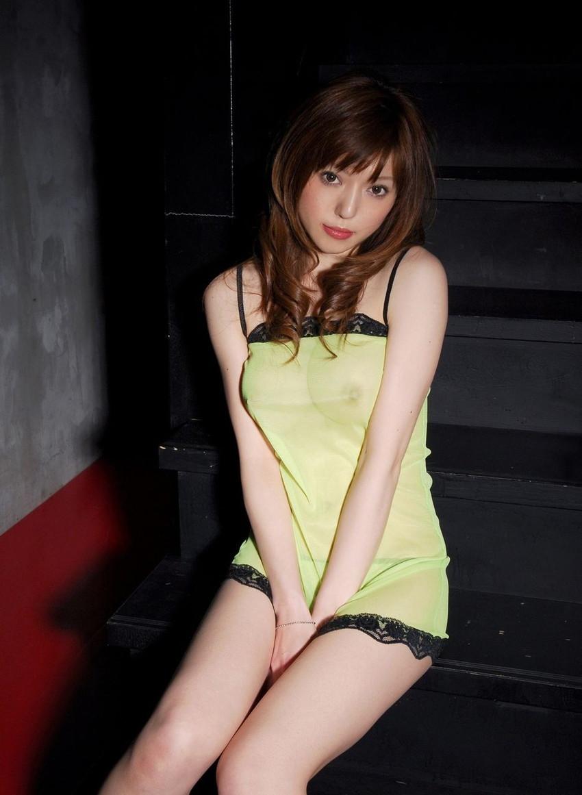 【シースルーエロ画像】スケスケの着衣で女の子の身体が丸見え!www 19