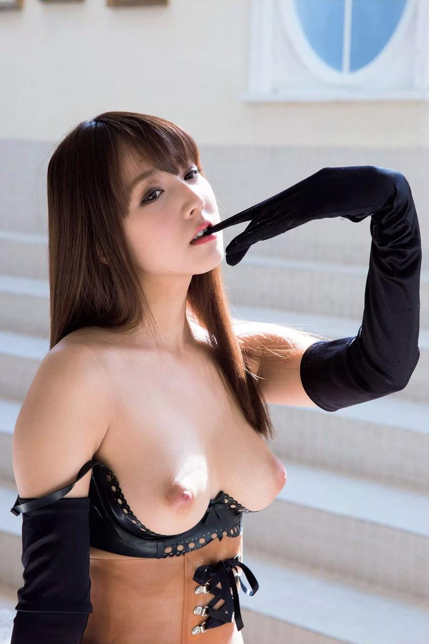 【三上悠亜エロ画像】みんなを驚かせるためにAVへ転進した元国民的アイドル! 16