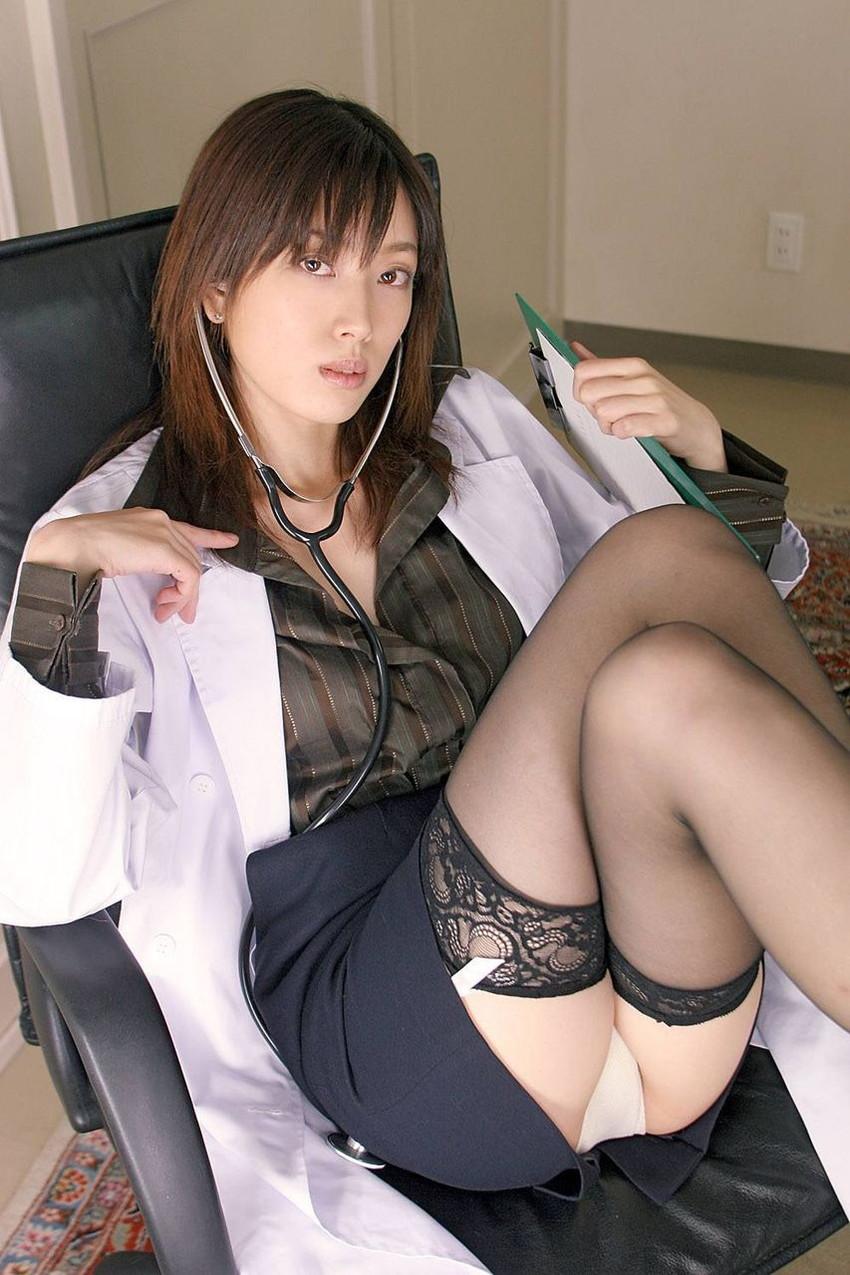 【職業コスプレエロ画像】様々な職業のコスプレ娘たちにフル勃起確定! 30