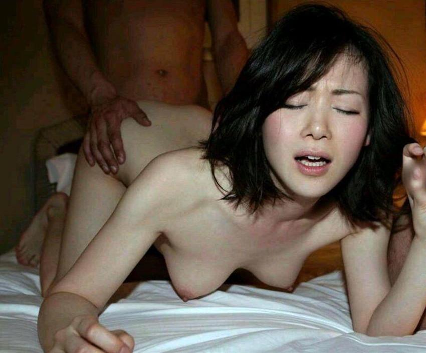 【美少女セックスエロ画像】非現実的すぎるぐぅカワ美少女に結合部分丸見え挿入しちゃうww 31