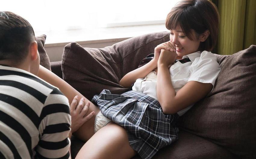 【美少女セックスエロ画像】非現実的すぎるぐぅカワ美少女に結合部分丸見え挿入しちゃうww 57