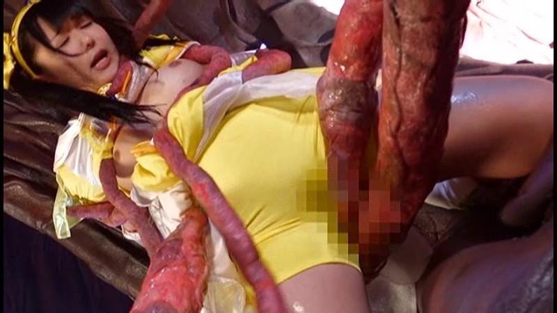 【ヒロインエロ画像】ヒロインコスの美少女達が拉致監禁されたり輪姦調教されて性奴隷堕ちしちゃってるヒロインエロ画像集 09