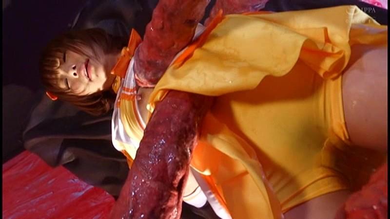 【ヒロインエロ画像】ヒロインコスの美少女達が拉致監禁されたり輪姦調教されて性奴隷堕ちしちゃってるヒロインエロ画像集 70