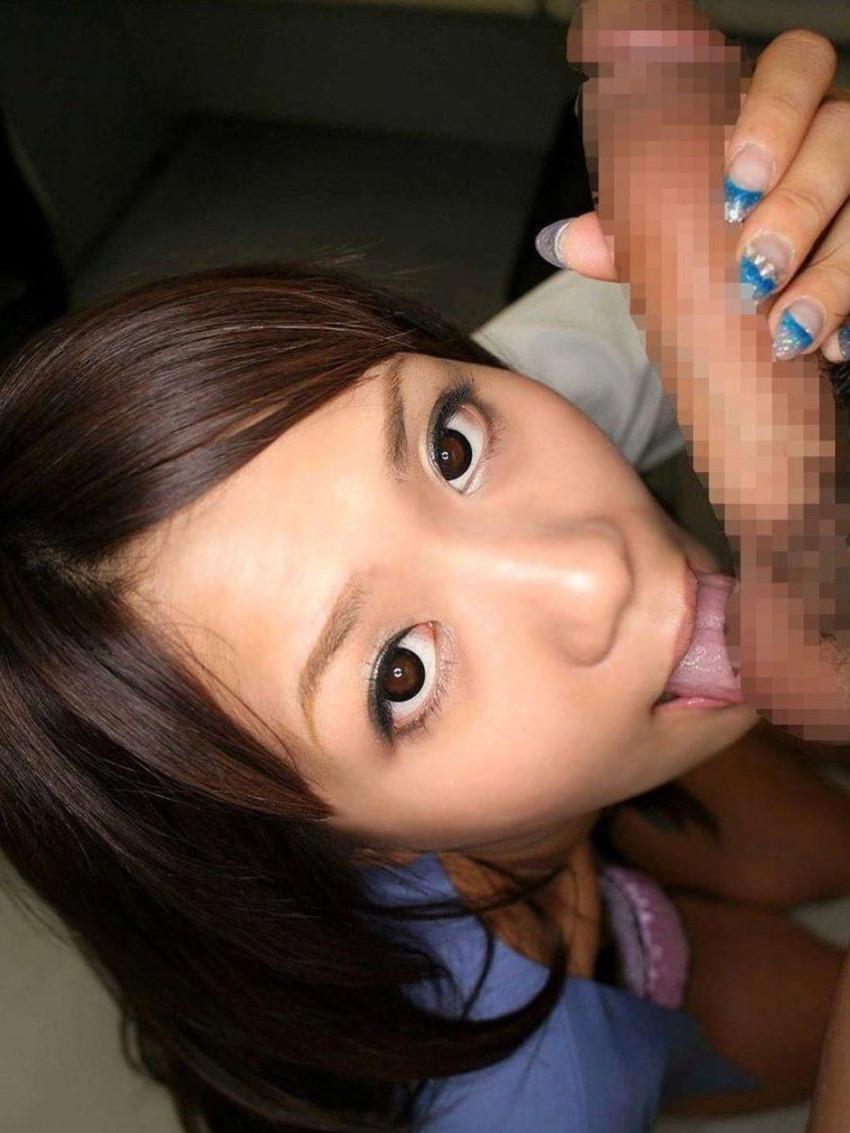 【玉舐めフェラエロ画像】ビッチなギャルや痴女お姉様がエロいベロテクやバキュームで玉舐めフェラしてくれちゃうww 16