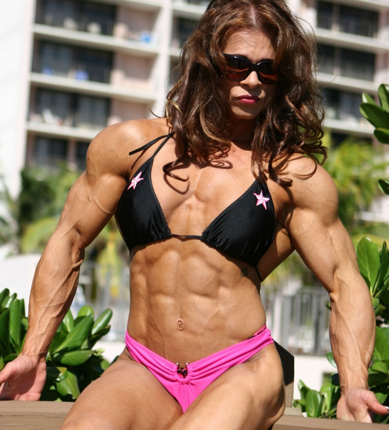 【筋肉女子エロ画像】性欲の塊のような逆レイプ回避不可能そうな筋肉女子のエロ画像集!ww