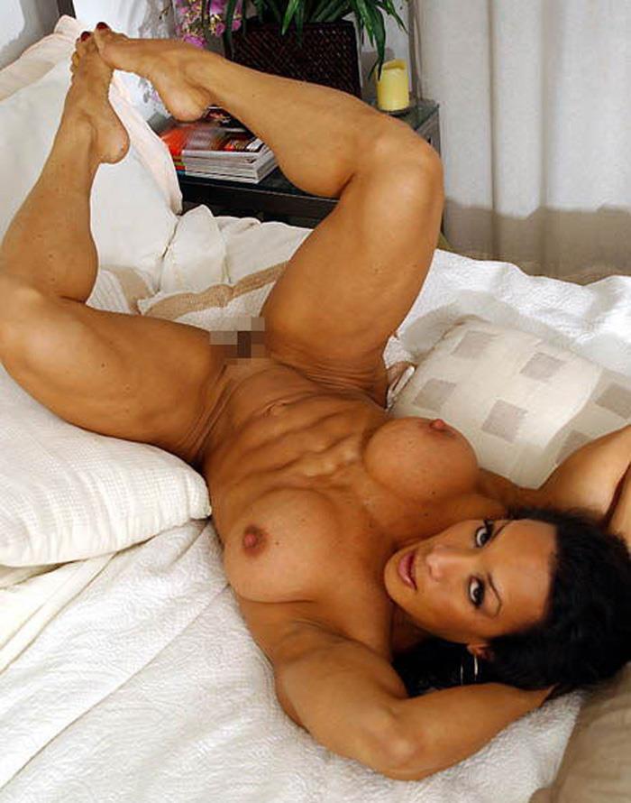【筋肉女子エロ画像】性欲の塊のような逆レイプ回避不可能そうな筋肉女子のエロ画像集!ww 02