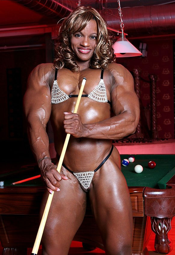 【筋肉女子エロ画像】性欲の塊のような逆レイプ回避不可能そうな筋肉女子のエロ画像集!ww 10