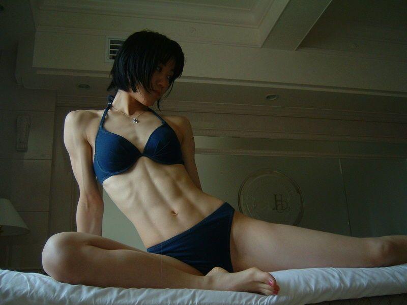 【筋肉女子エロ画像】性欲の塊のような逆レイプ回避不可能そうな筋肉女子のエロ画像集!ww 11