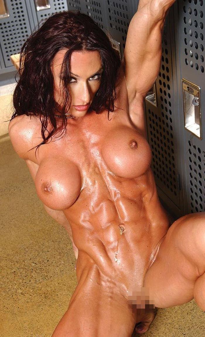 【筋肉女子エロ画像】性欲の塊のような逆レイプ回避不可能そうな筋肉女子のエロ画像集!ww 24