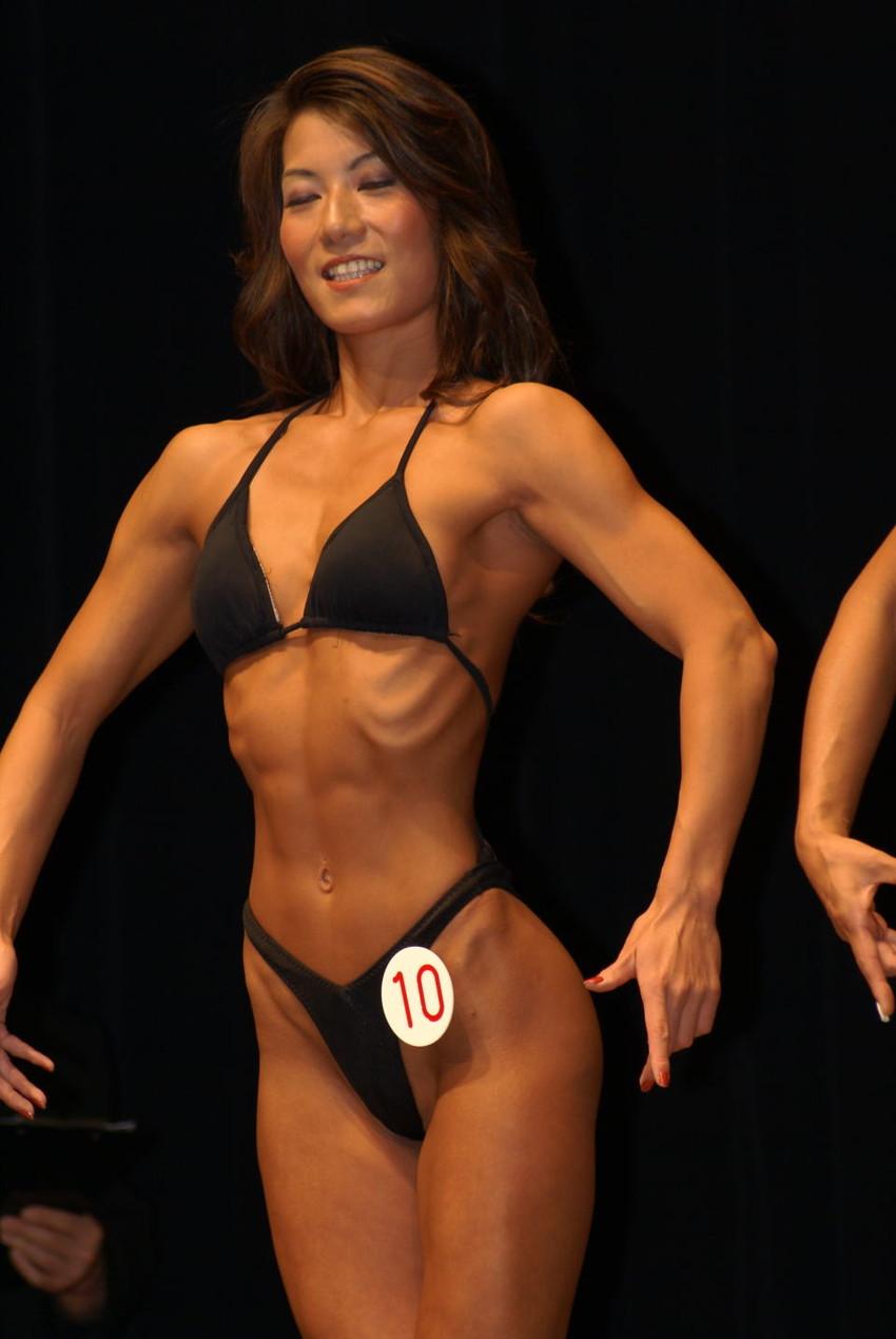 【筋肉女子エロ画像】性欲の塊のような逆レイプ回避不可能そうな筋肉女子のエロ画像集!ww 27