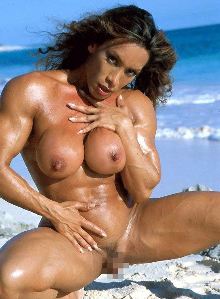 【筋肉女子エロ画像】性欲の塊のような逆レイプ回避不可能そうな筋肉女子のエロ画像集!ww 46