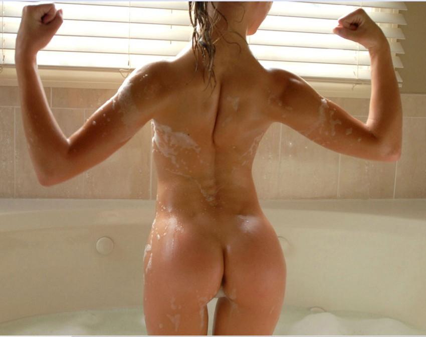 【筋肉女子エロ画像】性欲の塊のような逆レイプ回避不可能そうな筋肉女子のエロ画像集!ww 52