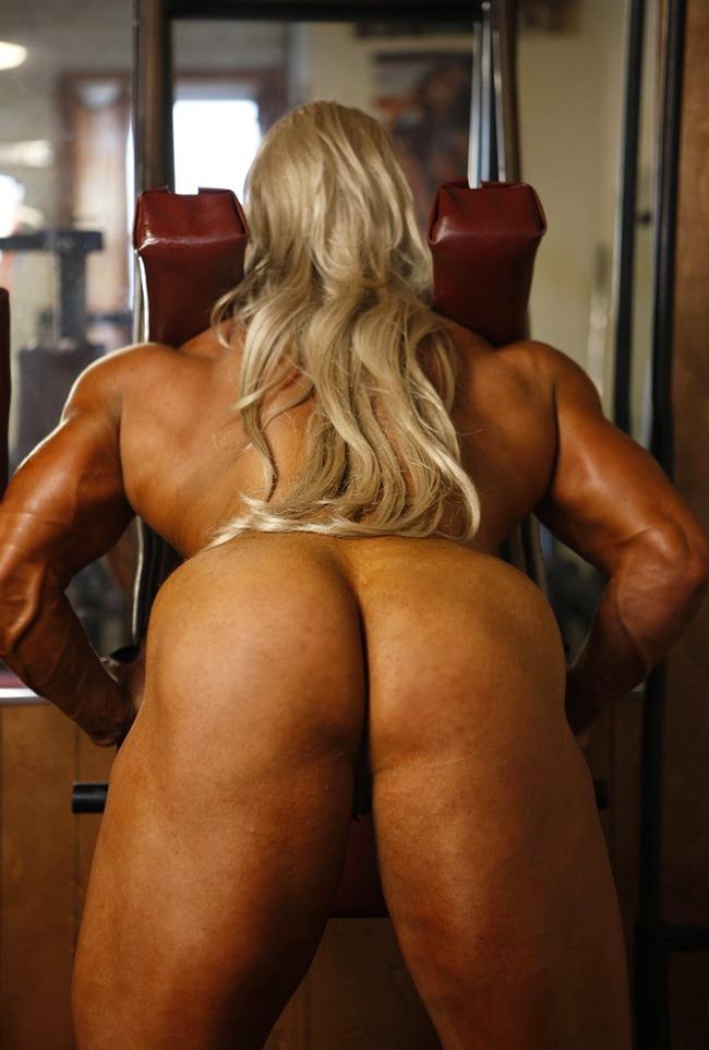 【筋肉女子エロ画像】性欲の塊のような逆レイプ回避不可能そうな筋肉女子のエロ画像集!ww 60