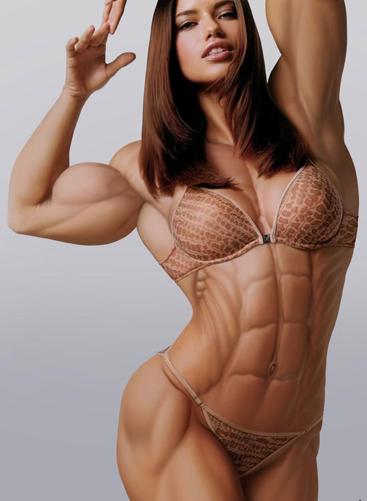 【筋肉女子エロ画像】性欲の塊のような逆レイプ回避不可能そうな筋肉女子のエロ画像集!ww 63