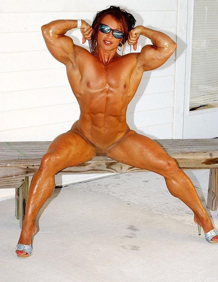 【筋肉女子エロ画像】性欲の塊のような逆レイプ回避不可能そうな筋肉女子のエロ画像集!ww 68