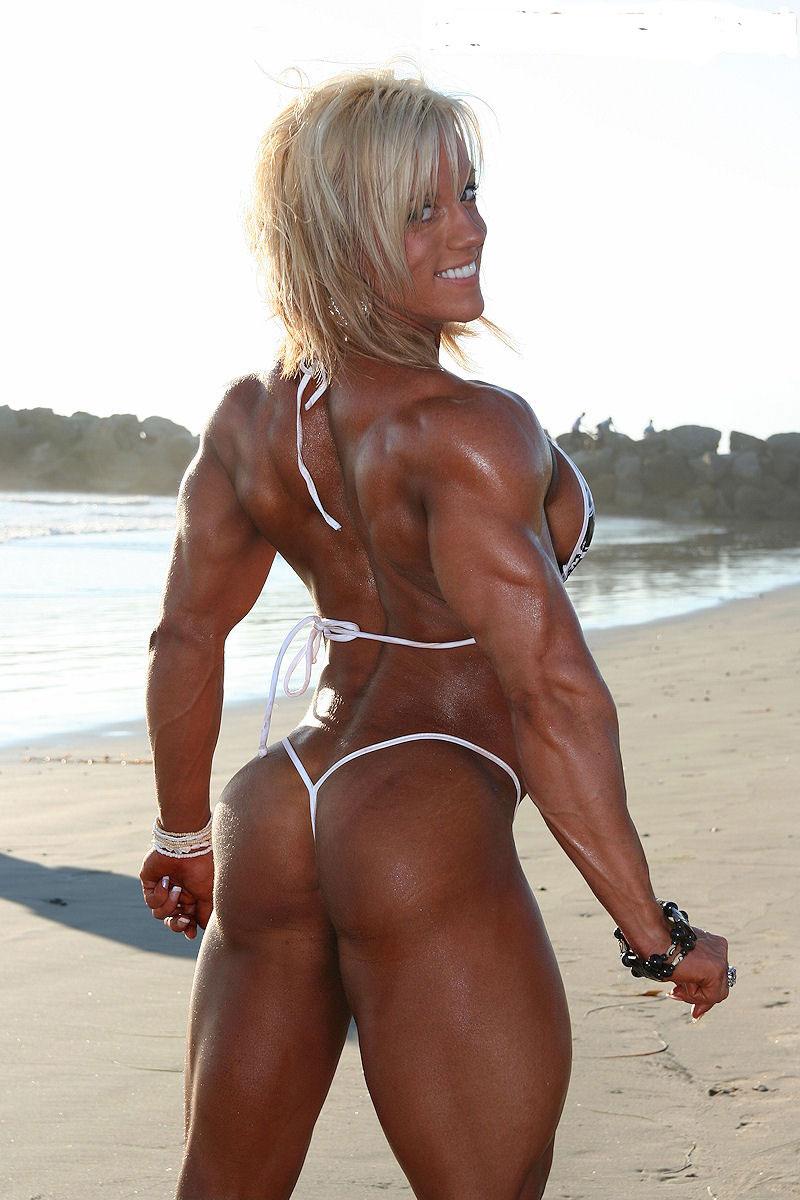 【筋肉女子エロ画像】性欲の塊のような逆レイプ回避不可能そうな筋肉女子のエロ画像集!ww 71