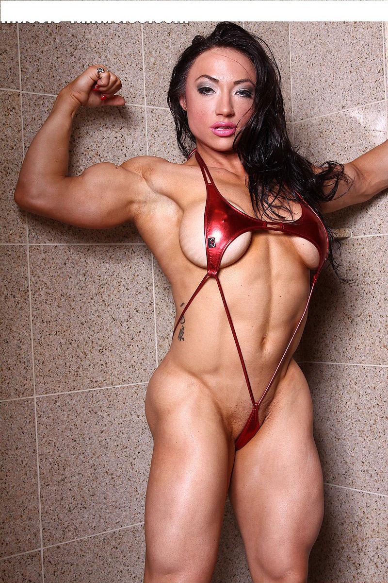 【筋肉女子エロ画像】性欲の塊のような逆レイプ回避不可能そうな筋肉女子のエロ画像集!ww 78