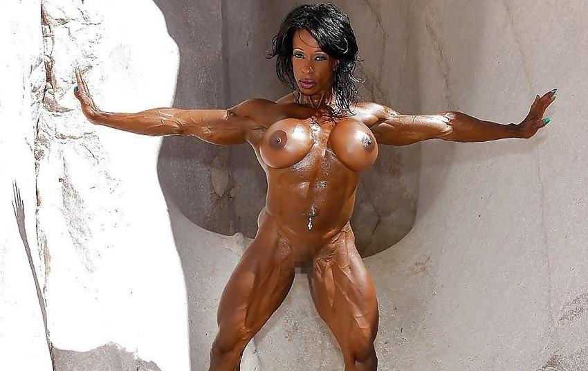 【筋肉女子エロ画像】性欲の塊のような逆レイプ回避不可能そうな筋肉女子のエロ画像集!ww 79