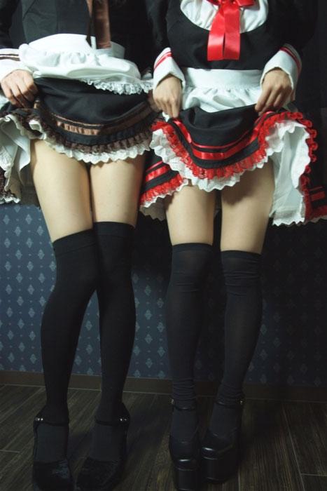 【ニーハイソックスエロ画像】ロリで細身の美脚美少女がニーハイソックス履いてM字開脚してきたら確実に勃起!ww 73