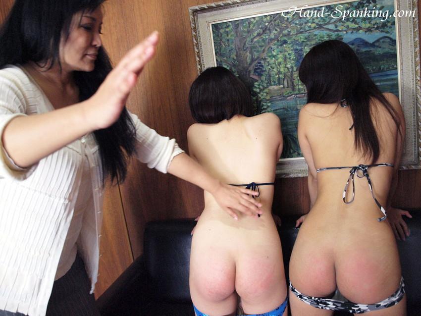 【スパンキングエロ画像集】ナマイキな美女にスパンキングでSMプレイ!尻叩きで性奴隷調教するスパンキングエロ画像集ww 08