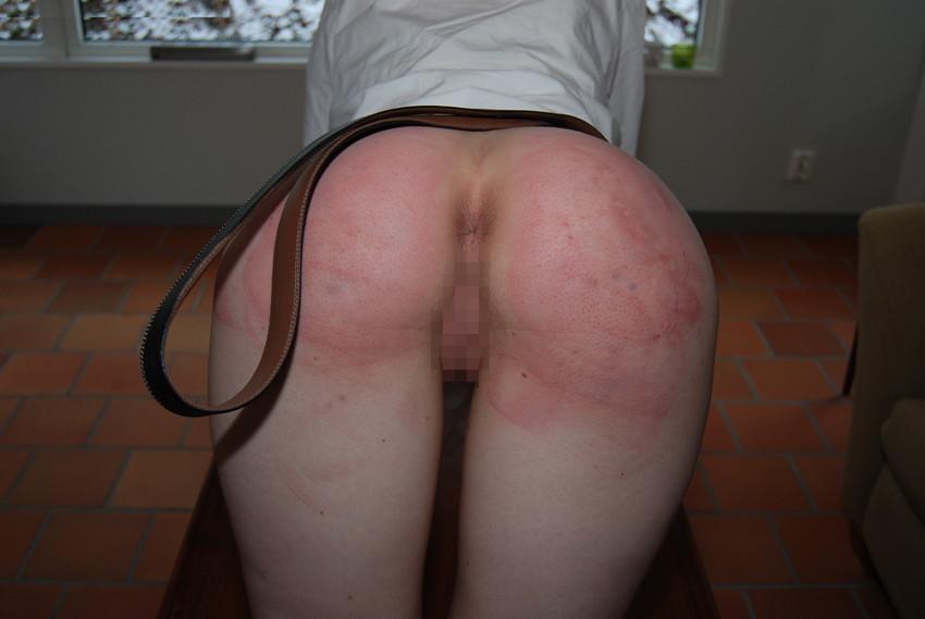 【スパンキングエロ画像集】ナマイキな美女にスパンキングでSMプレイ!尻叩きで性奴隷調教するスパンキングエロ画像集ww 13