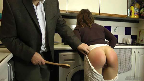 【スパンキングエロ画像集】ナマイキな美女にスパンキングでSMプレイ!尻叩きで性奴隷調教するスパンキングエロ画像集ww 34