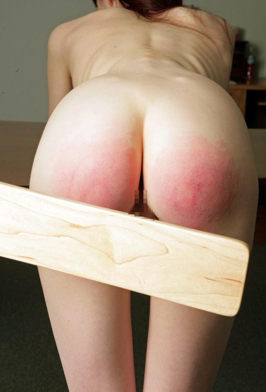 【スパンキングエロ画像集】ナマイキな美女にスパンキングでSMプレイ!尻叩きで性奴隷調教するスパンキングエロ画像集ww 57
