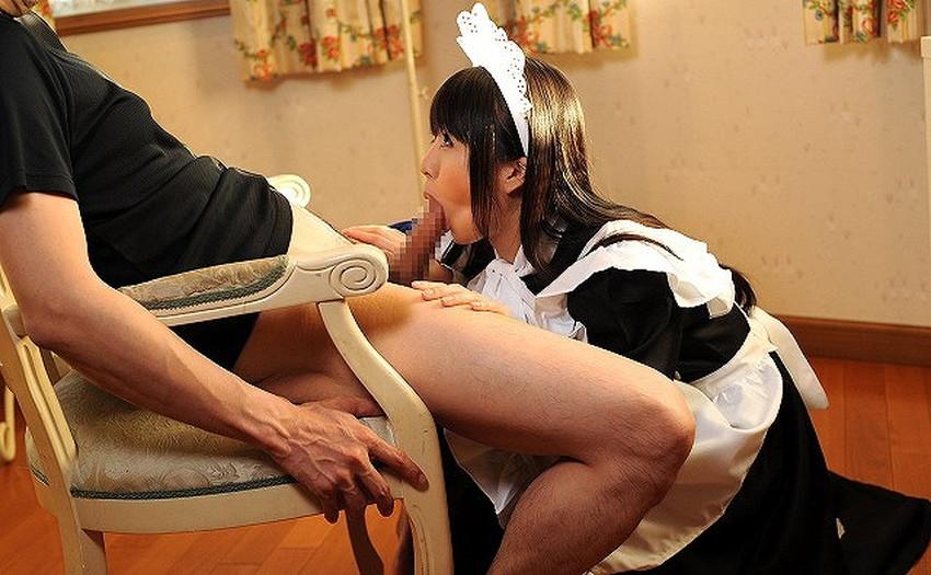 【メイドエロ画像】従順な美少女メイドに毎日フェラやご奉仕セックスさせてるメイドのエロ画像集!ww【80枚】 04