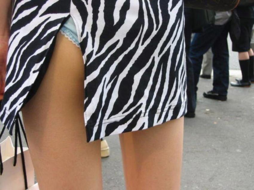 【スリットスカートエロ画像】タイトミニやスリットスカート腰の太ももやパンチラがセクシーすぎるスリットスカートのエロ画像集!ww【80枚】 16