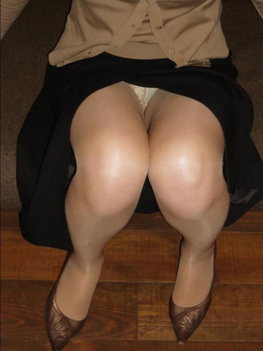 【スリットスカートエロ画像】タイトミニやスリットスカート腰の太ももやパンチラがセクシーすぎるスリットスカートのエロ画像集!ww【80枚】 38