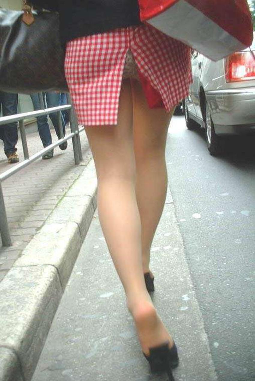 【スリットスカートエロ画像】タイトミニやスリットスカート腰の太ももやパンチラがセクシーすぎるスリットスカートのエロ画像集!ww【80枚】 65