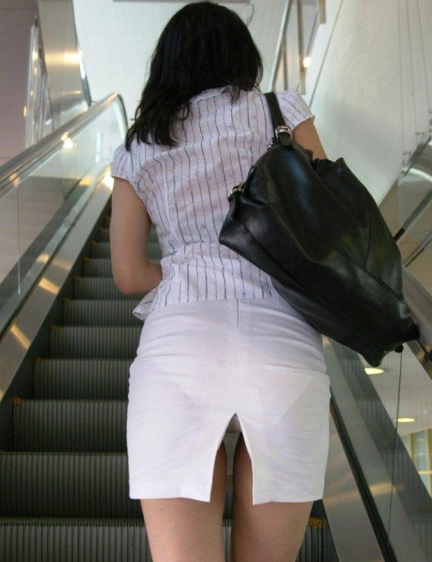 【スリットスカートエロ画像】タイトミニやスリットスカート腰の太ももやパンチラがセクシーすぎるスリットスカートのエロ画像集!ww【80枚】 80
