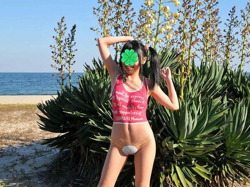 【ボディペイントエロ画像】全裸なのにボディペイントで着衣に見せかけ野外で露出狂プレイを堪能するボディペイントのエロ画像集ww!ww【80枚】 17
