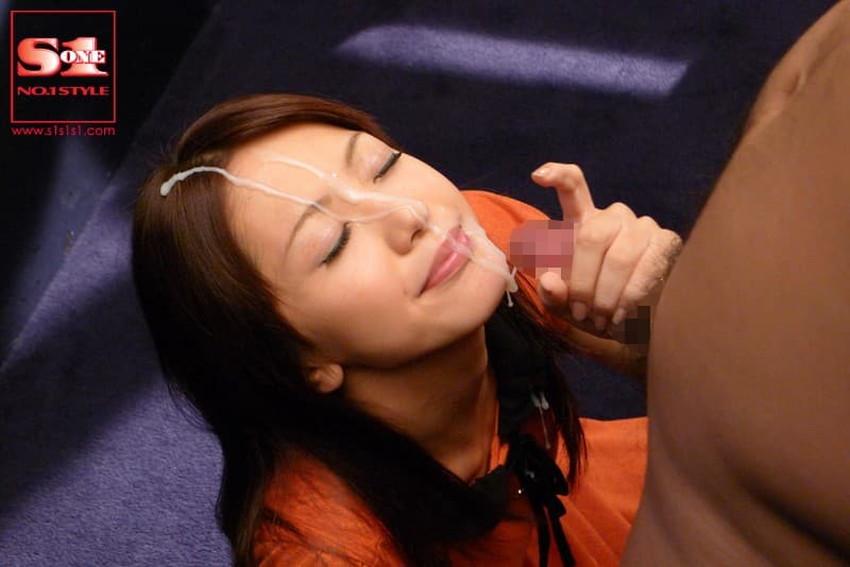 【顔射フィニッシュエロ画像】美女とのセックスは顔面にフィニッシュ!!Hのクライマックスで濃厚ザーメンをぶっかけした顔射フィニッシュのエロ画像集!ww【80枚】 07