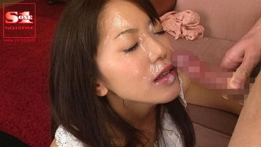 【顔射フィニッシュエロ画像】美女とのセックスは顔面にフィニッシュ!!Hのクライマックスで濃厚ザーメンをぶっかけした顔射フィニッシュのエロ画像集!ww【80枚】 17