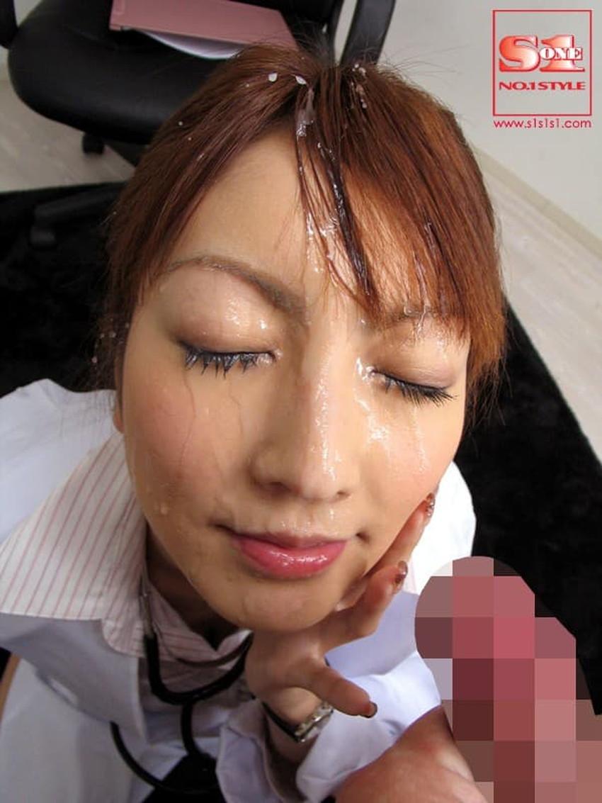 【顔射フィニッシュエロ画像】美女とのセックスは顔面にフィニッシュ!!Hのクライマックスで濃厚ザーメンをぶっかけした顔射フィニッシュのエロ画像集!ww【80枚】 30