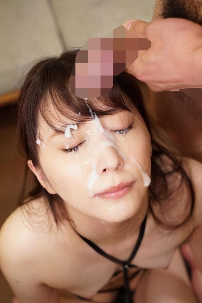 【顔射フィニッシュエロ画像】美女とのセックスは顔面にフィニッシュ!!Hのクライマックスで濃厚ザーメンをぶっかけした顔射フィニッシュのエロ画像集!ww【80枚】 60