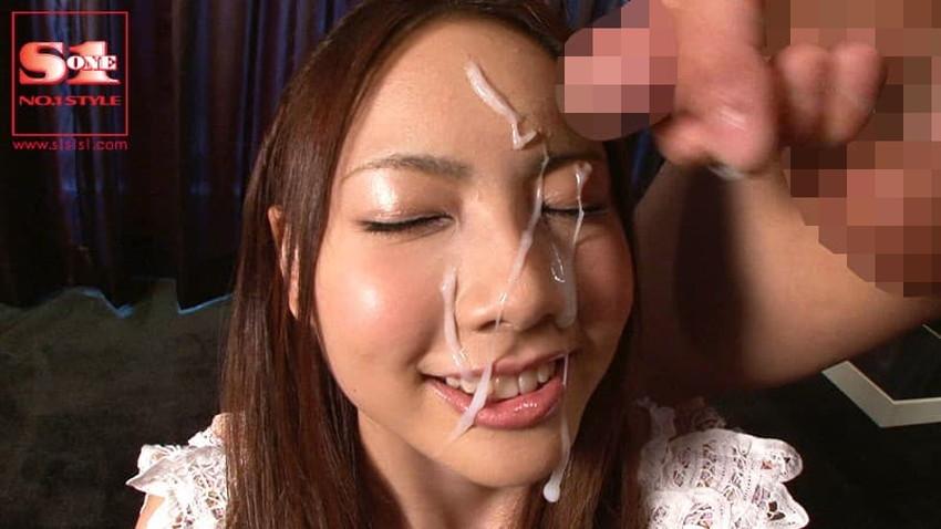【顔射フィニッシュエロ画像】美女とのセックスは顔面にフィニッシュ!!Hのクライマックスで濃厚ザーメンをぶっかけした顔射フィニッシュのエロ画像集!ww【80枚】 65