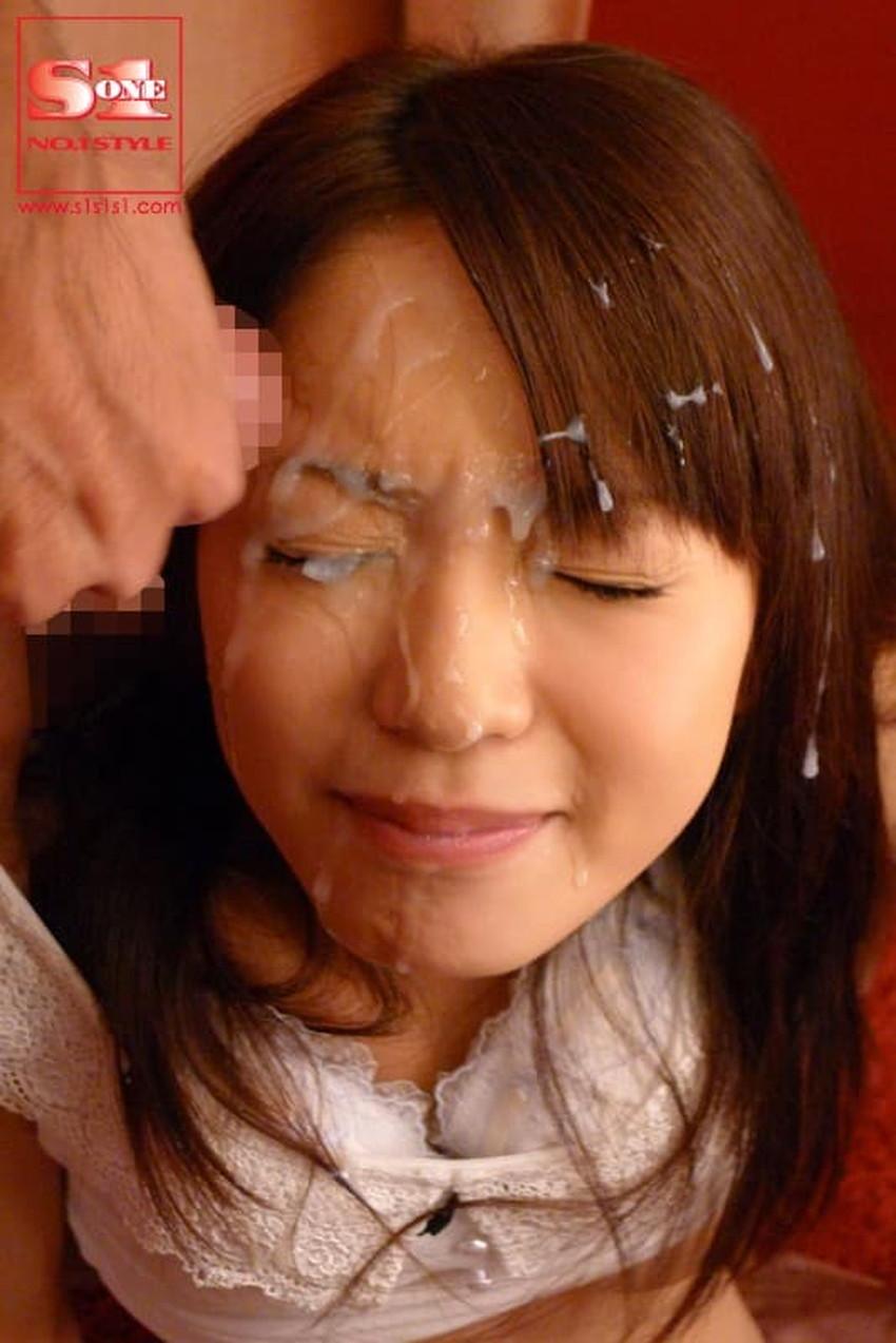 【顔射フィニッシュエロ画像】美女とのセックスは顔面にフィニッシュ!!Hのクライマックスで濃厚ザーメンをぶっかけした顔射フィニッシュのエロ画像集!ww【80枚】 78