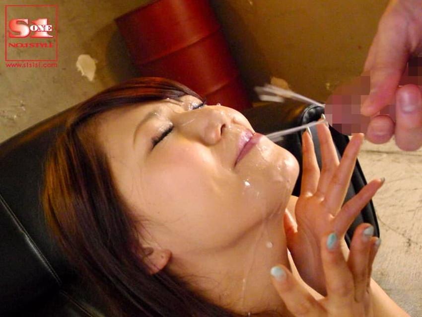 【顔射フィニッシュエロ画像】美女とのセックスは顔面にフィニッシュ!!Hのクライマックスで濃厚ザーメンをぶっかけした顔射フィニッシュのエロ画像集!ww【80枚】 80