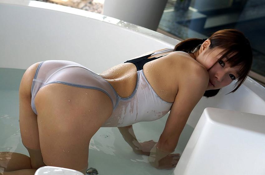 【濡れ透け美女エロ画像】S級美女の衣服やパンティーが濡れて乳首や陰毛がスケスケになり全裸よりもソソられる濡れ透け美女のエロ画像集!ww【80枚】 23